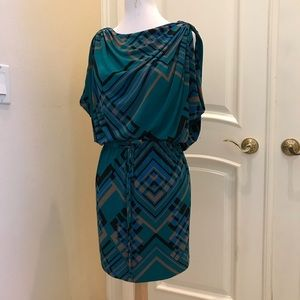NWT Jessica Simpson knit Roman style dress